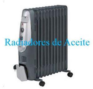 radiadores aceite bajo consumo