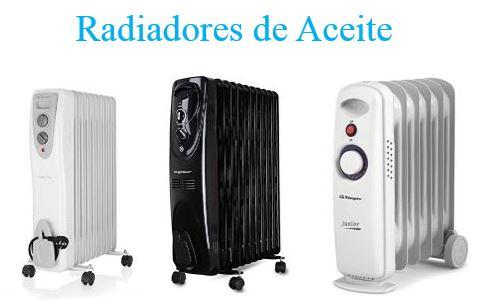radiadores de aceite de bajo consumo precios